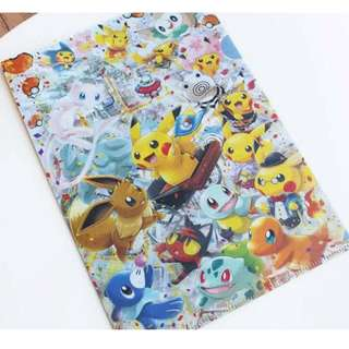 Pokemon Center TOKYO DX Exclusive A4 Clearfile (Pre-Order)