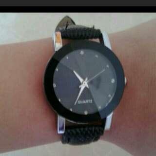 Black elegant watch