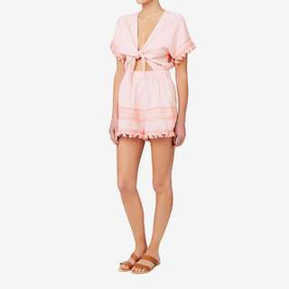 Seed Heritage Knot front playsuit