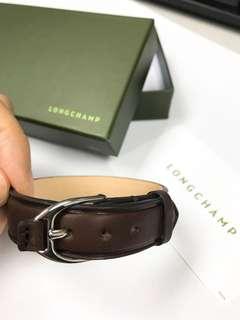 Longchamp 皮手帶