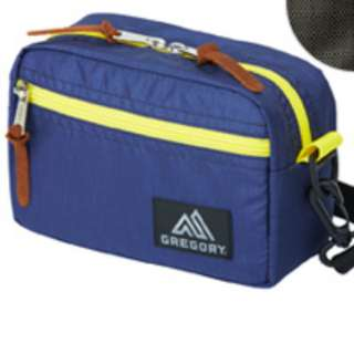 (NEW) Gregory Padded Shoulder Pouch (Medium) (Slate Blue/SunFlower)