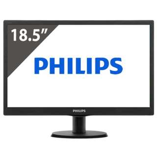 "Phillips 18.5"" LED Monitor"