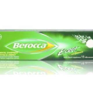 Berocca Boost Effervescent Tablets, 15 Tabs