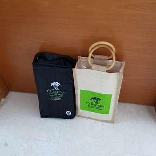 Wine Bottles Cooler Carrier Bag