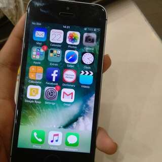 iphone 5s 32gb spacegray