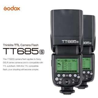 Godox TT685F / TT685N / TT685S / TT685O / TT685C Thinklite TTL Flash