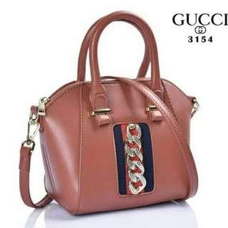 Gucci antigona mini Size18*12*17 Bahan kulit lambskin