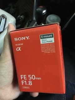 lensa 1.8 50 NEW (baru 2 jam beli)