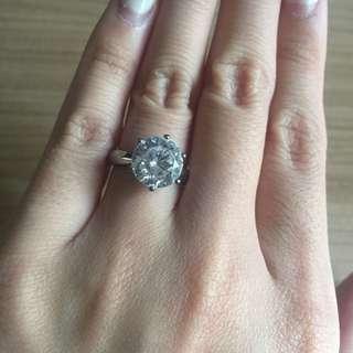 4 carat ring