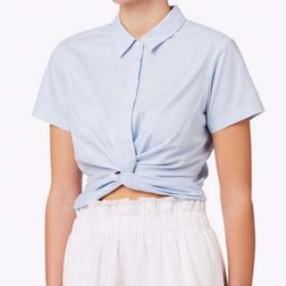 Seed Heritage Knot Crop Shirt