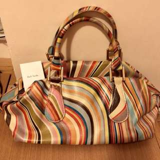 Paul smith signature bag