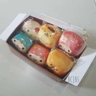 Sanrio Chigiri Cube Mascot