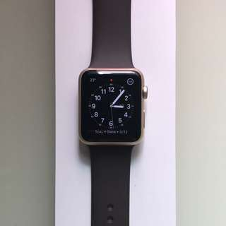 Apple Watch S1 42mm Gold