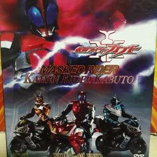 Kamen rider kabuto 1- 49 dvd