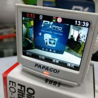 原價3400元下殺只賣1900元,只拆開測試 PAPAGO! P1 pro 行車記錄器