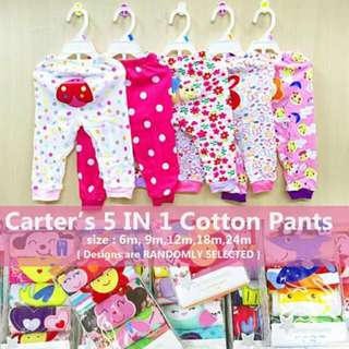 5pc Girls Pants