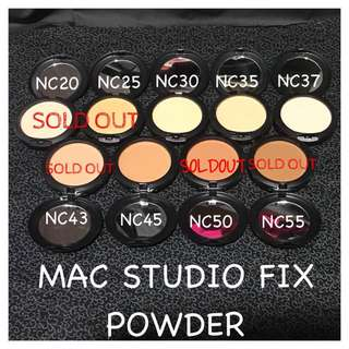 Mac Studio Fix Foundation (Inspired)