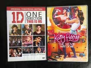 One Direction & Katy Perry Movies