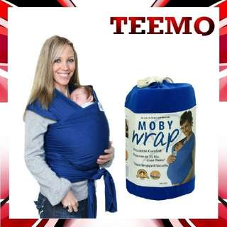 Moby infant wrap baby carrier