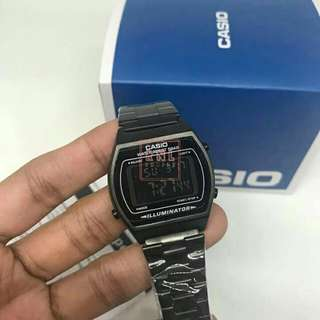 Casio Vintage 5Bar All Black OEM