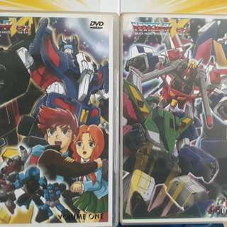 Transformers Victory force 1 - 32 dvd
