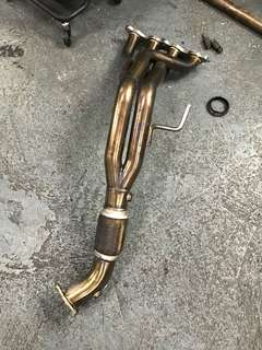 Dc5 all models header/ extractor aftermarket