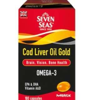 SEVEN SEAS Cod Liver Oil - 100caps