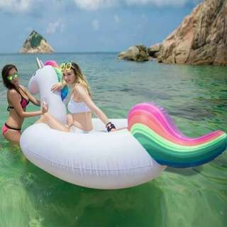 🌷giant unicorn life'preserver (floaters)