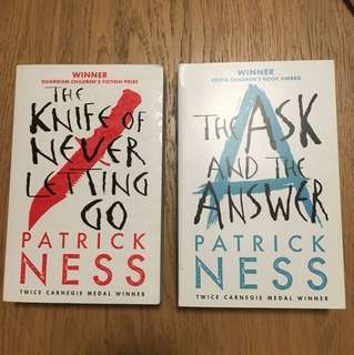Patrick Ness The Knife of Never Letting Go and The Ask and the Answer