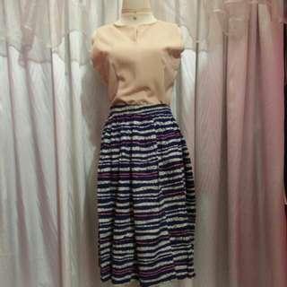 Lyly set (top+skirt+choker )3 item!
