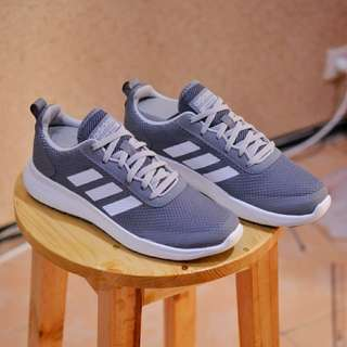 SEPATU ADIDAS CLOUDFOAM ELEMENT RACE ULTIMATE GREY WHITE