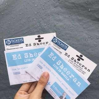 Ed Sheeran in Manila Concert Tickets (2 Gen Ad Tix)