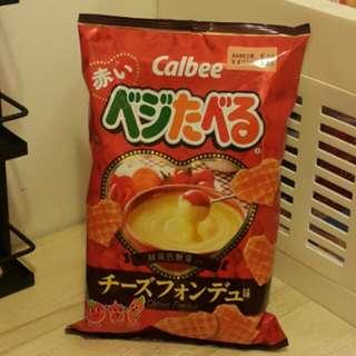 卡樂B心形芝士味野菜薯格