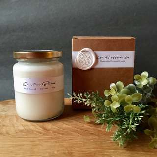 Handmade Custom Fragrance Blend Scented Soy Wax Candle