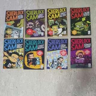 Sherlock Sam 1-8