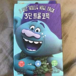 NEW Trolls DreamWorks 3 Step Nose Pack