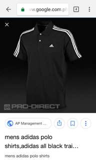 Adidas polo shirt (100% orig.)