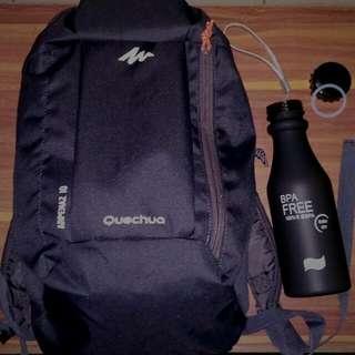 tas Quechua arpenaz free soda bottle doff bfa