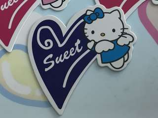 Hello kitty cake topper, cupcake topper, jelly topper - 34pcs for $2.50