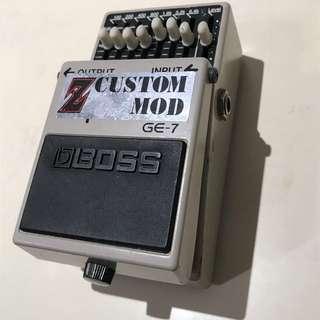 Boss GE-7 EQ 等化效果器 (z custom mod)ge7