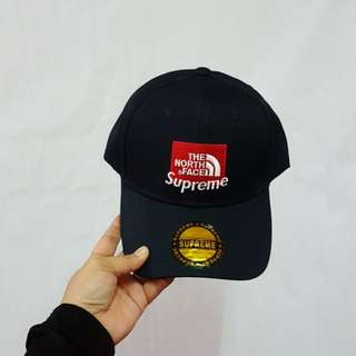 SUPREME X THE NORTH FACE CAP