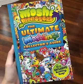 moshi monsters collectors guide book