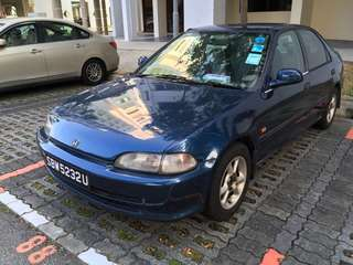 Honda Civic 1.6 Manual VTi