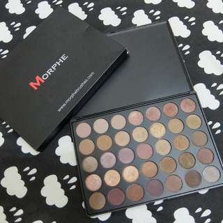REPRICE! Morphe 35T Taupe Palette