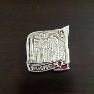 Minsk, Belarus badges