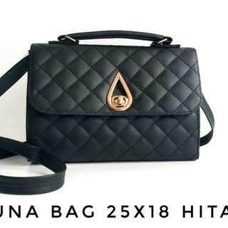 Luna Bag 25x18 Hitam
