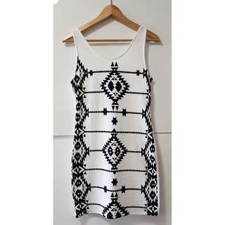 White H&M Divided Dress