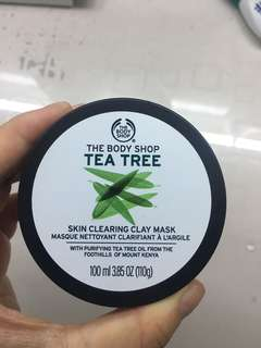 The Body Shop tea tree skin clearing clay mask authentic