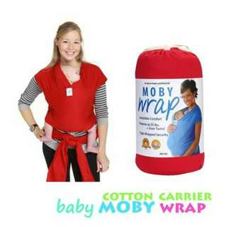 Moby Wrap Baby Carrier RED