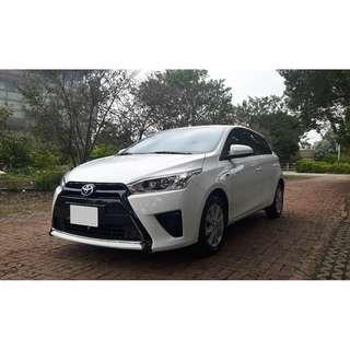 2016年 Toyota  Yaris大鴨  經典型(原廠保固中)
